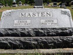 Emma F <i>McAninch</i> Masten