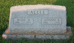 Bessie M <i>Ives</i> Allee