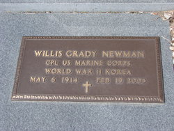 Willis Grady Newman