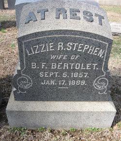 Lizzie R. <i>Stephen</i> Bertolet