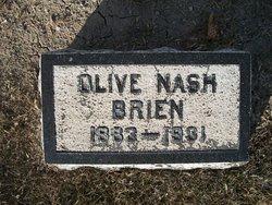 Olive <i>Nash</i> Brien