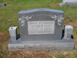 Anna <i>Plummer</i> Anderson