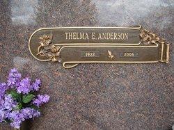 Thelma <i>Edwards</i> Anderson