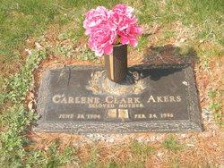 Carlene <i>Clark</i> Akers