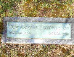 Ruby <i>Loftiss</i> Edmondston