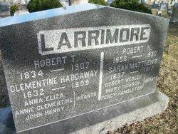 Clementine Lavina <i>Haddaway</i> Larrimore
