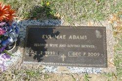 Eva Mae <i>Wells</i> Adams