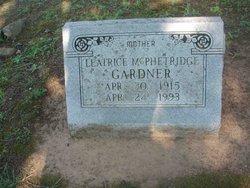 Leatrice <i>McPhetridge</i> Gardner