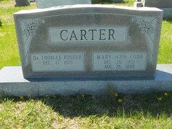 Mary Ann <i>Cobb</i> Carter