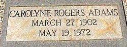 Mary Carolyne <i>Rogers</i> Adams