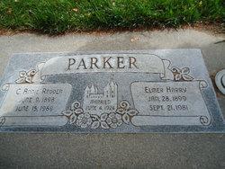 Clara Annie <i>Redden</i> Parker