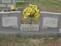 Mary Zelma <i>Myers</i> Barnes