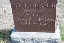 Bettie Elizabeth <i>Straube</i> Brown