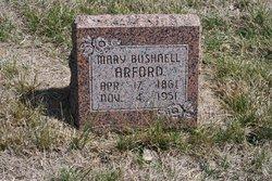 Mary <i>Bushnell</i> Arford