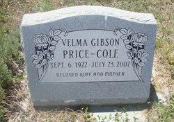 Velma <i>Gibson</i> Cole