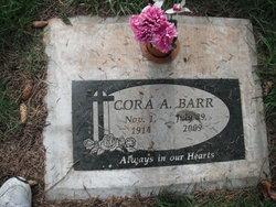 Cora Anna <i>Ellenburger</i> Barr