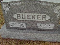 Lillian Jean <i>Pratt</i> Bueker