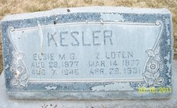 Elsie May <i>Gillins</i> Kesler