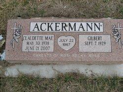 Claudette Mae Ackermann