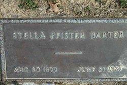 Stella <i>Pfister</i> Barter