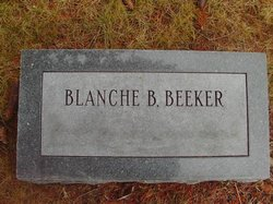 Blanche Belle <i>Pratt</i> Beeker