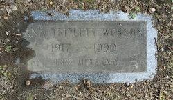 Ann Triplett Wesson