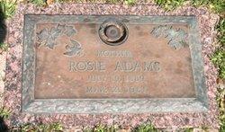 Rosie Belle <i>Jones</i> Adams