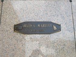 Helen G McGreevy