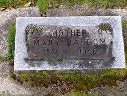 Mary <i>Blanchard</i> Balcom