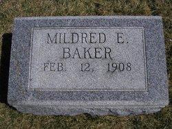 Mildred E. Baker