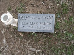 Ila Mae Dorothy <i>Wolf</i> Baker