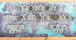 Thelma Ellen <i>Edwards</i> Bronson