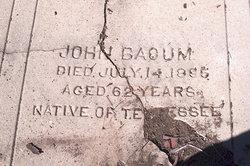 John Bacum