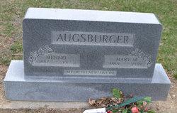 Mary M <i>Diller</i> Augsburger