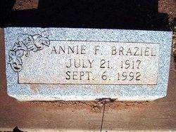 Annie F Braziel