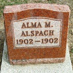 Alma M Alspach