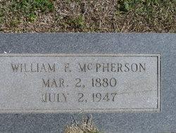William Franklin Bill McPherson