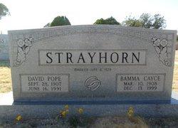 David Pope Strayhorn
