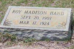 Roy Madison Hand