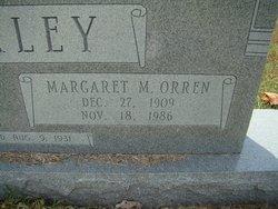 Margaret M. <i>Orren</i> Bickley
