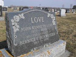 Bernice Elizabeth <i>Schweitzer</i> Love
