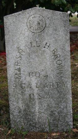 Marshall Hamilton Brown