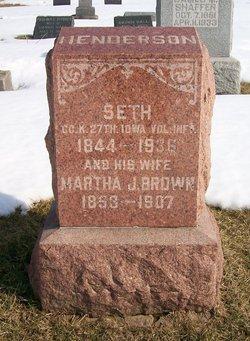 Pvt Seth Henderson