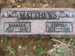 Barbara Jane <i>Morton</i> Mathews