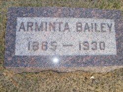 Arminta <i>Sullivan</i> Bailey