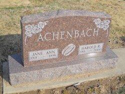 Jane Ann Achenbach