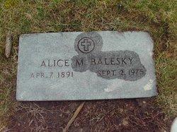Alice Margaret <i>Bueker</i> Balesky