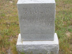 Mary <i>Schmidt</i> Baulig