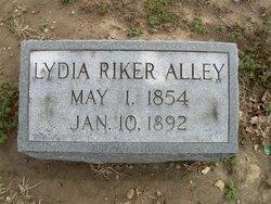 Lydia M. <i>Riker</i> Alley