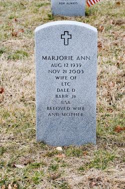 Marjorie Ann Barr